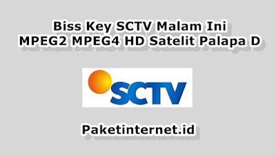 Biss Key SCTV