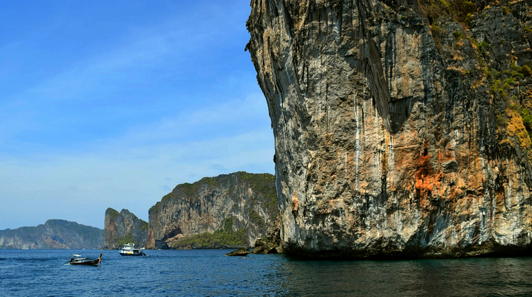 Maya Bay Cliff