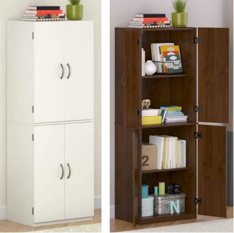Wonderful Mainstays Storage Cabinet For $59.00 With Free Shipping (great Idea For A  Pesach Pantry!)