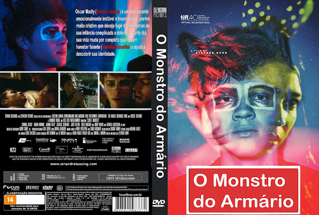 Capa DVD O Monstro Do Armário