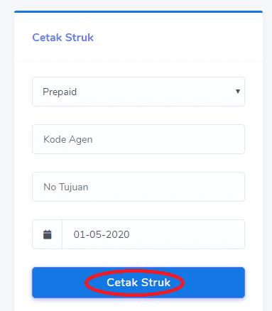 Cara Cetak Struk Token PLN dan PPOB Market Pulsa
