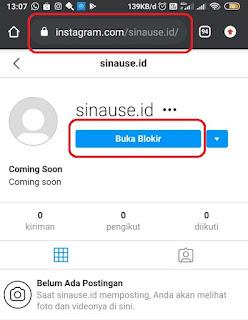 Cara Membuka Blokir Instagram yang saling Memblokir DM Tanpa aplikasi 2