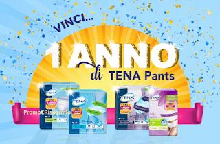 Logo Tena Pants : vinci un anno di forniture