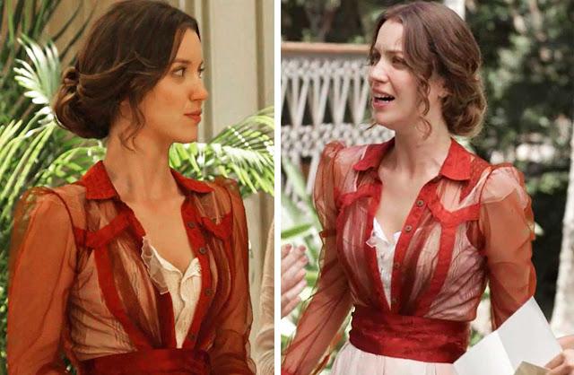Elisabeta camisa vermelha