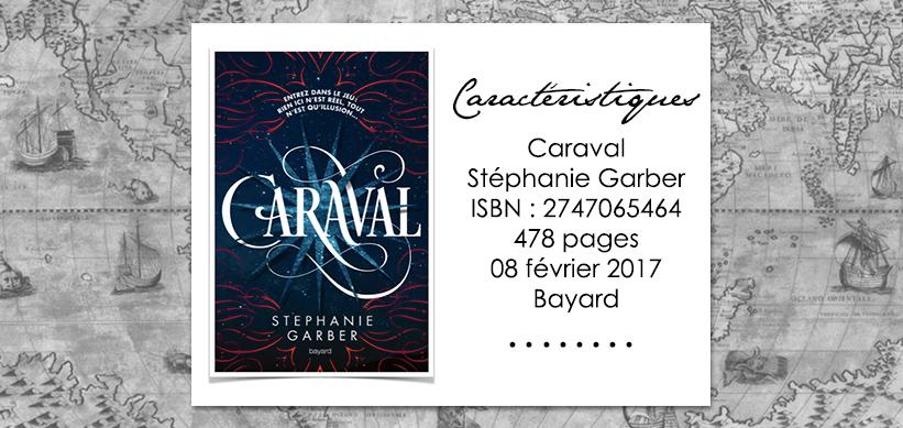 Couverture du livre Caraval de Stéphanie Garber