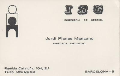 70's: ISG - Ingeniería de Gestión