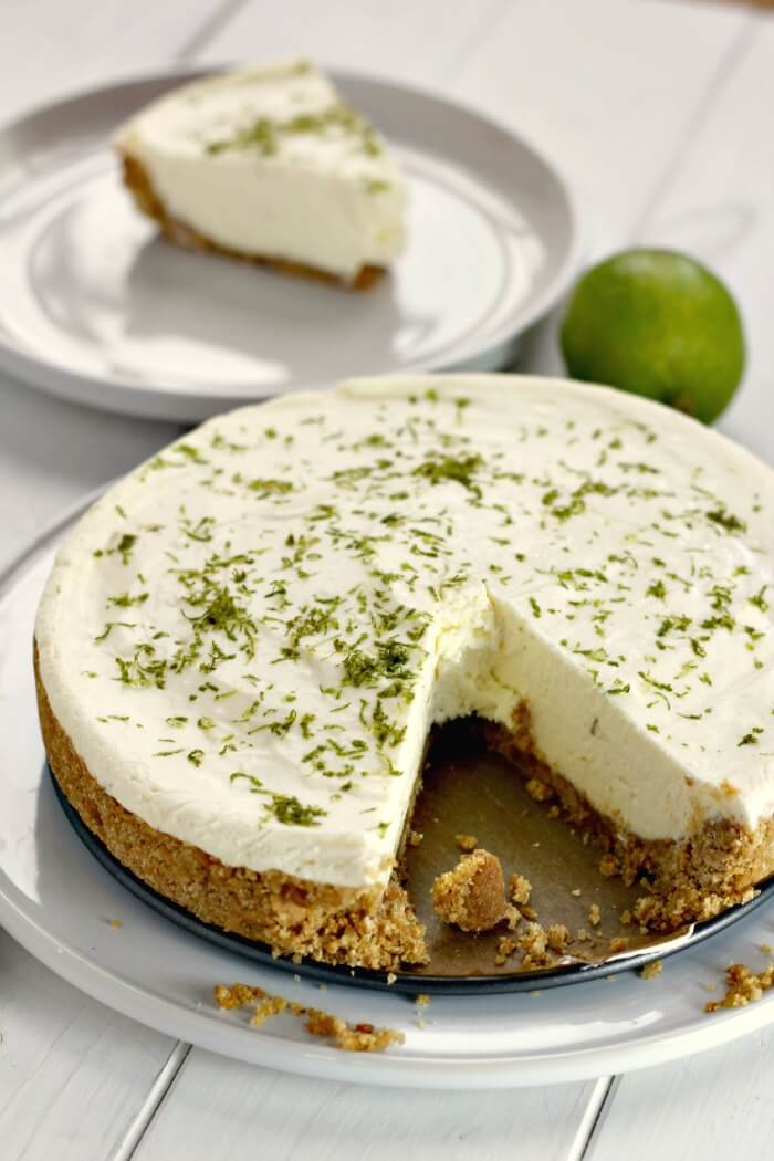 No Bake Lime Pie