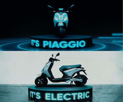 Information about Piaggio One electric scooter surfaced, will provide a range of 100 km on a single charge