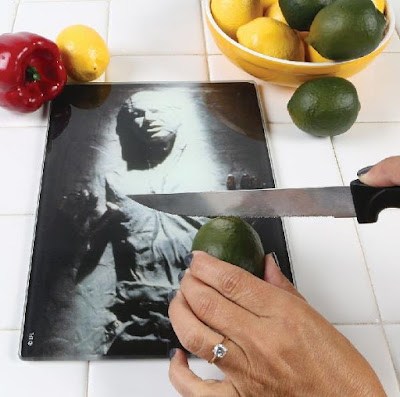 Han Solo Glass Cutting Board