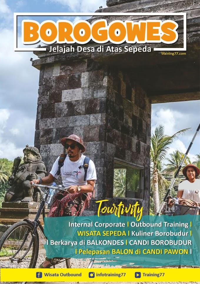 BOROGOWES | Jelajah Desa di Atas Sepeda | outbound murah | training77