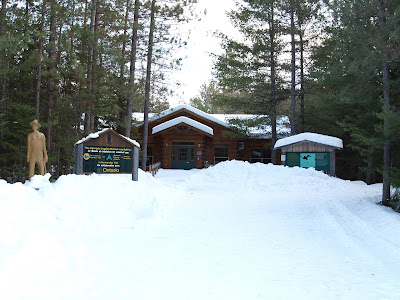 The Algonquin Logging Museum is an outdoor museum that is open year-round.