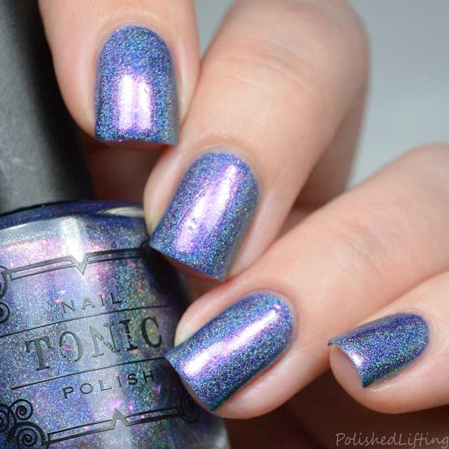purple holo nail polish