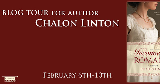 An Inconvenient Romance by Chalon Linton  (Blog Tour + Giveaway)
