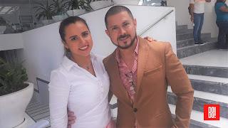 Carmen Garmendia y Jorge Moreno.