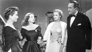 All About Eve - Bette Davis, Anne Baxter, George Sanders, and Marilyn Monroe