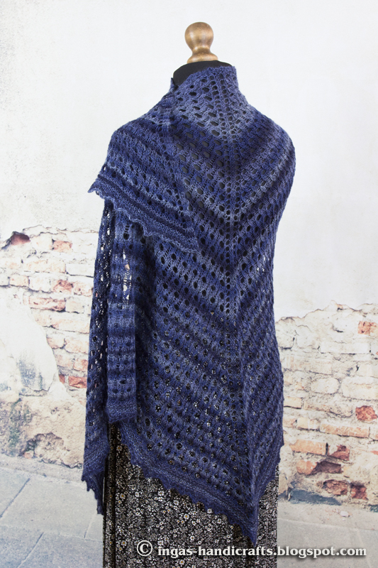 Opera Shawl by Anna