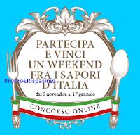 """Concorso """"L'Italia in tavola"""" : vinci gratis 23 weekend per 4 persone in uno dei borghi più belli d'Italia (2700 euro ciascuno)"""