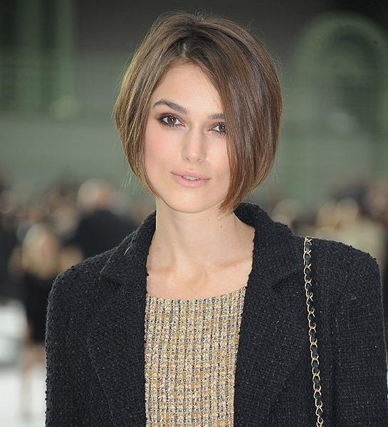 Keira Knightley Straight Bob Haircut