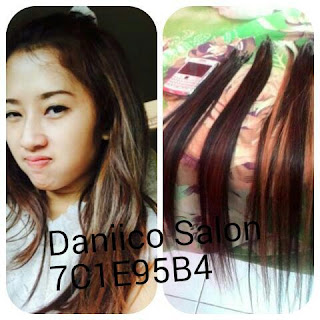 Juragan Rambut - Hair Extension Highlight 80cm