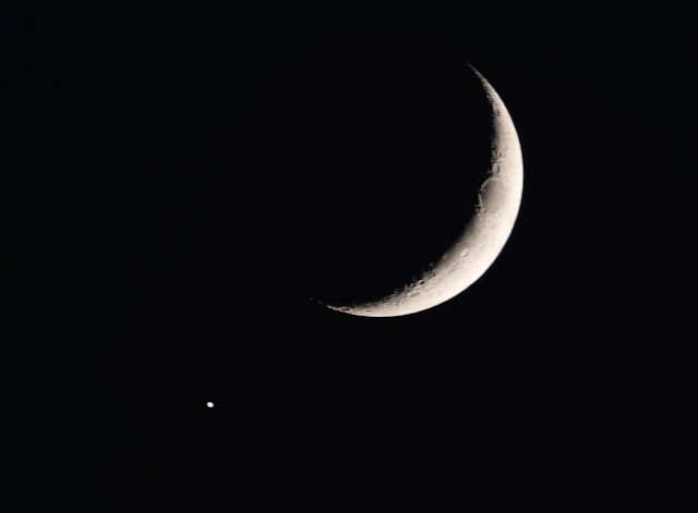 The moon and Jupiter 31-Oct-2019
