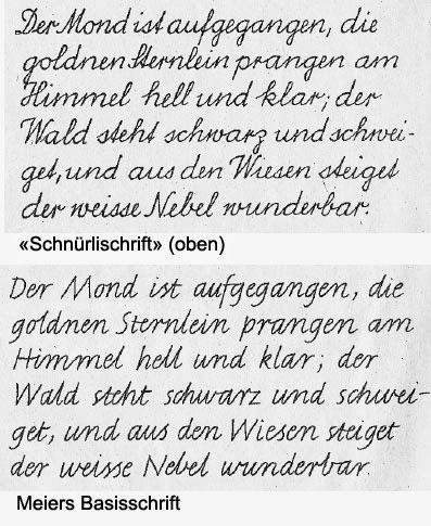 schweizer basisschrift