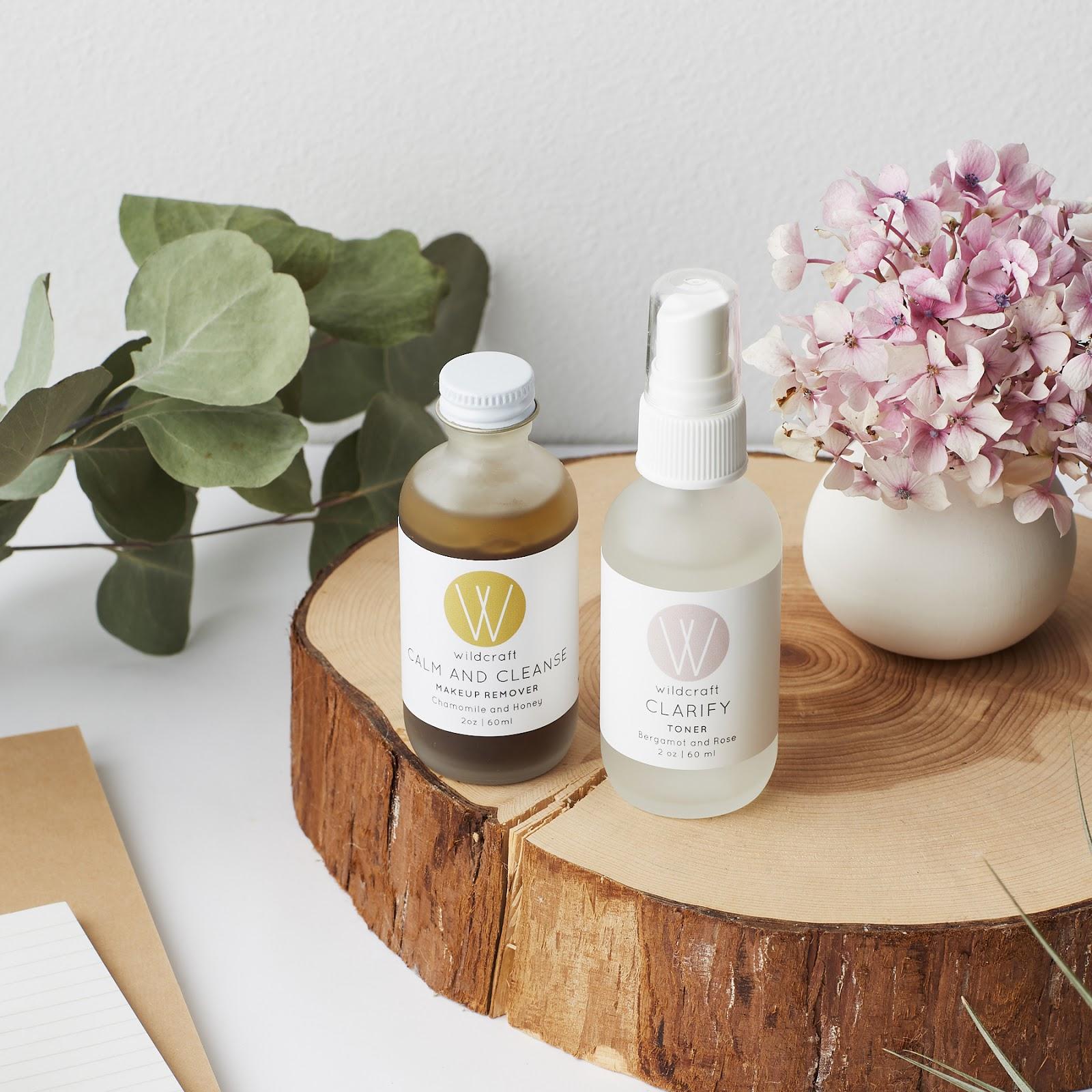 Wildcraft Bergamot Rose Toner + Chamomile Honey Makeup Remover Review natural organic skincare brand for acne prone skin remedy oily hellolindasau