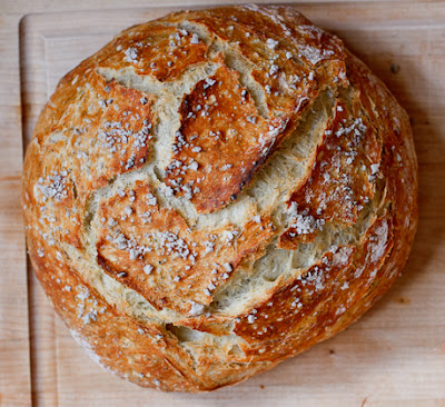 Easy Peasy Rustic Bread//Peanut Butter & Dill Pickles Blog