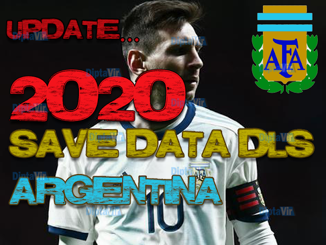 SAVE-DATA-DLS-ARGENTINA-NATIONAL-TEAM-SEASON-2020