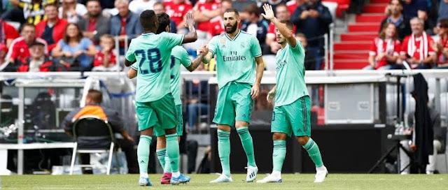 تشكيل ريال مدريد ضد زالتسبورغ عبر سوفت سلاش