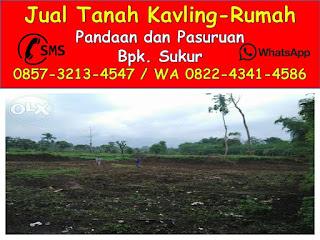 Tanah Kavling Bangajang pandaan 0822-4341-4586 (WA)
