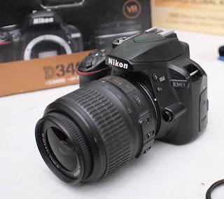 Jual Kamera Nikon D3400 Bekas Malang