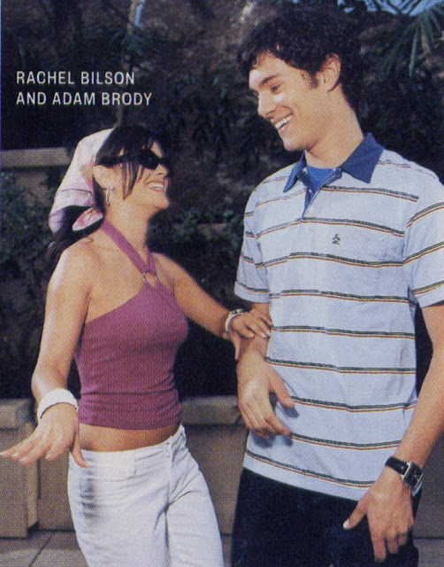 adam brody and rachel bilson behind the scenes the o.c.