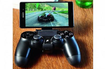 Xperia Z3 conectado no Play Station 4