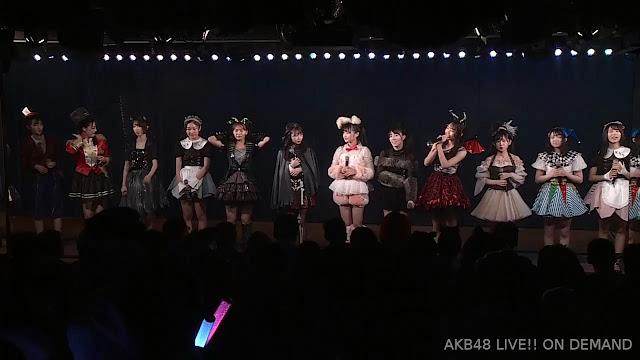 AKB48 'Pajama Drive' 191031 KKS10 LIVE 1830 (Halloween Party)