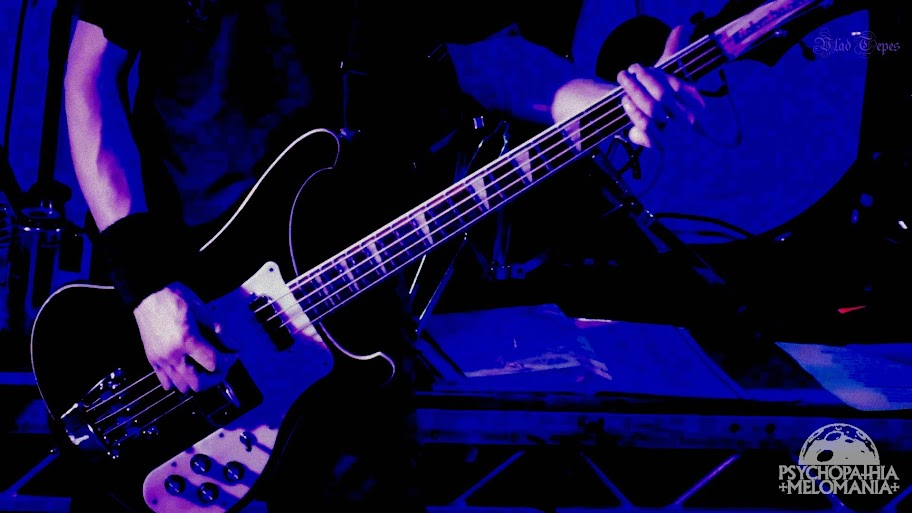 Pól MacAmlaigh @Primordial, Redemption Fest 2014, The Academy, Dublin, Irlande 28/11/2014
