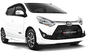 Toyota Agya Warna White
