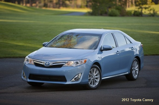 2012 Toyota Camry test drive