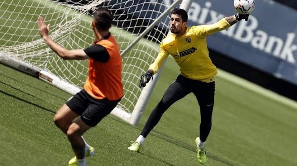 Málaga, Moussa Diarra es la novedad del entrenamiento de hoy
