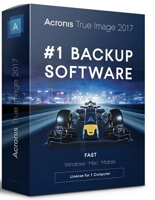Acronis True Image 2017 20.0 Build 8029 poster box cover