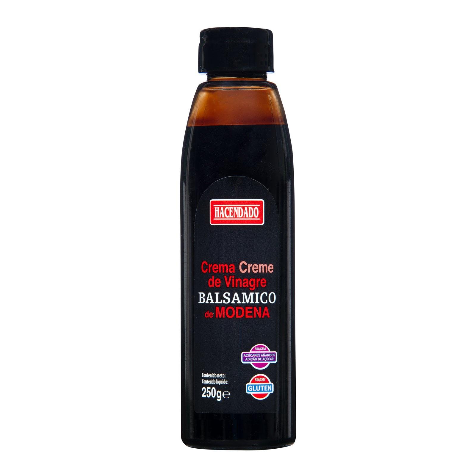 Crema de vinagre balsámico de Módena Hacendado