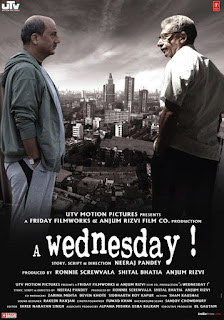 A Wednesday 2008 Hindi 720p BluRay 950MB With Bangla Subtitle