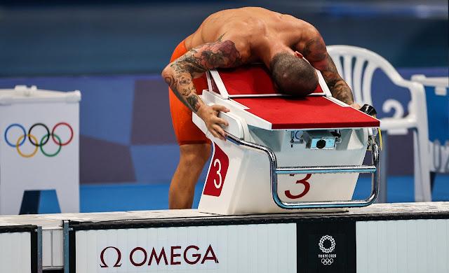 Bruno Fratus natação bronze olimpíada de tóquio
