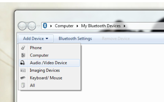 Cara menghubungkan headset bluetooth ke laptopan pc