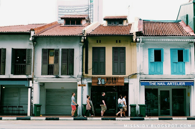 photo hunting in haji lane singapore