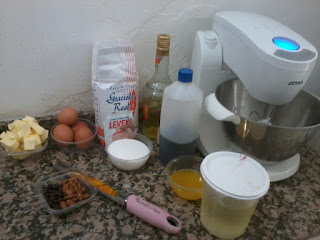 ingredientes para torta