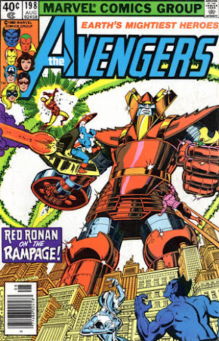 Avengers #198, Red Ronin