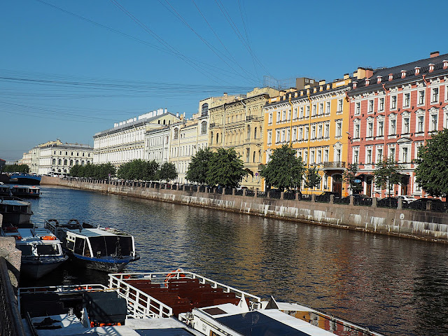 Санкт-Петербург - река Мойка (St. Petersburg - the river Moika)