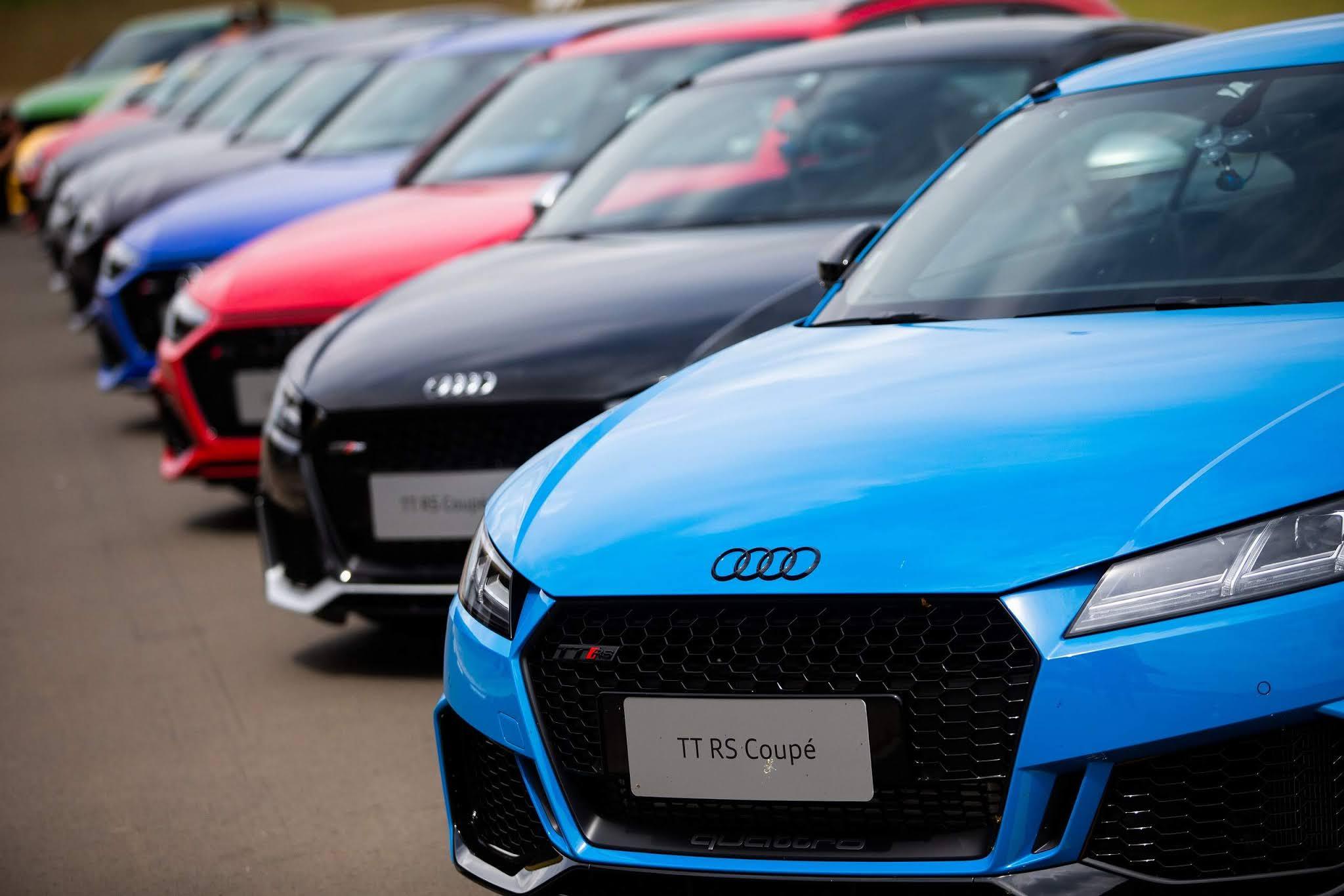 Audi do Brasil confirma datas para Driving Experience com nova linha de esportivos