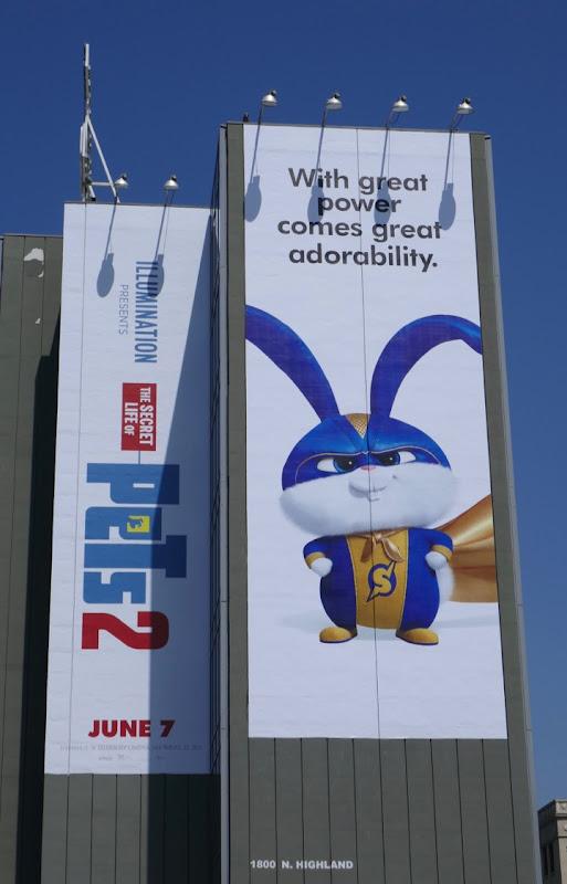 Secret Life Pets 2 Captain Snowball billboard