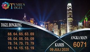 Prediksi Togel Hongkong Kamis 09 Juli 2020